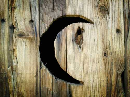 perfect crescent moon