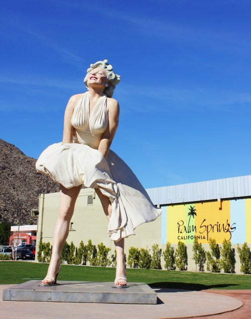 Palm Springs Marilyn Monroe